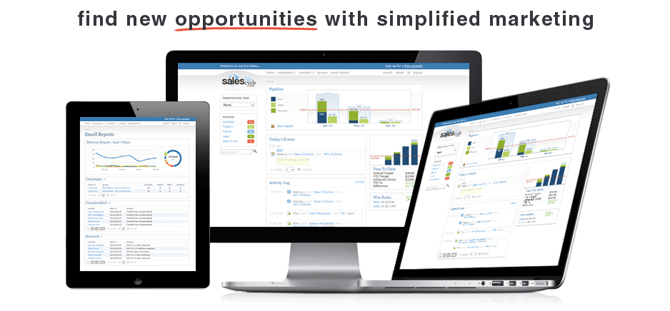 Find new opportunities with simplified marketing