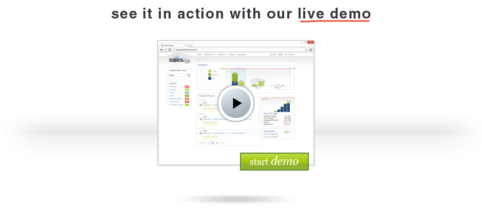 See it in action with out live demo
